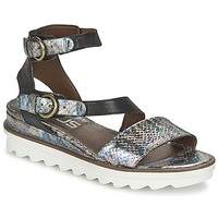 Shoes Women Sandals Mjus MIAMI Scale / Black