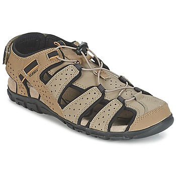 Shoes Men Sports sandals Geox S.STRADA B SABLE