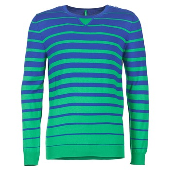 material Men jumpers Benetton FODIME Marine / Green
