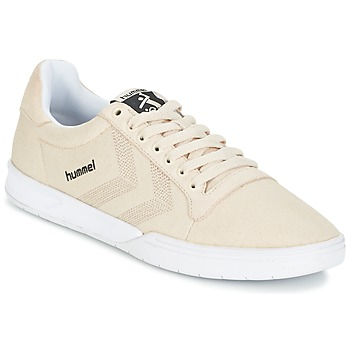 Shoes Low top trainers Hummel HML STADIL CANVAS LO Cream
