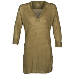 material Women Tunics Majestic 530 KAKI
