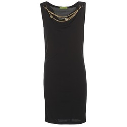 material Women Short Dresses Versace Jeans NDM931 Black