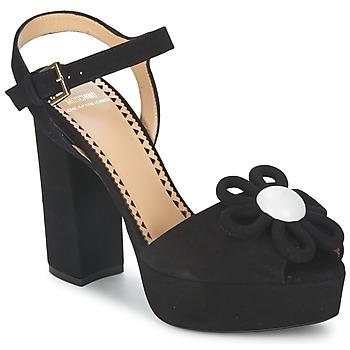 Shoes Women Sandals Moschino Cheap & CHIC CA1617 Black