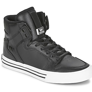 Shoes High top trainers Supra VAIDER CLASSIC Black / White