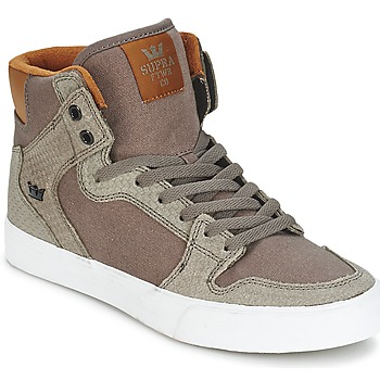 Shoes High top trainers Supra VAIDER Brown