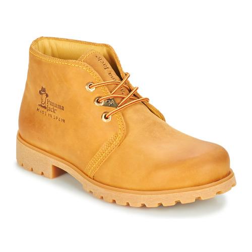 Shoes Men Mid boots Panama Jack BOTA PANAMA Wheat