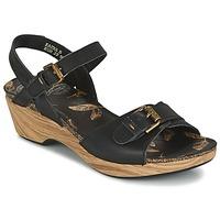 Shoes Women Sandals Panama Jack LAURA Black