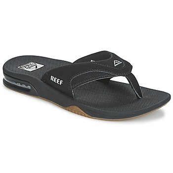 Shoes Men Flip flops Reef FANNING Black / Agent