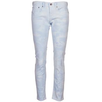 material Women 5-pocket trousers Roxy SUNTRIPPERS TIE-DYE Blue