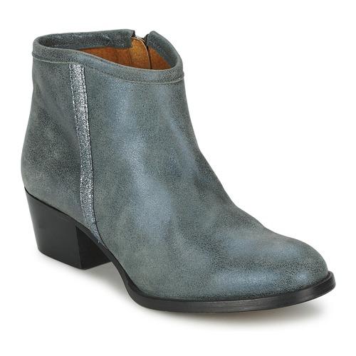 Shoes Women Mid boots Lollipops ROMANE BOOTS Grey