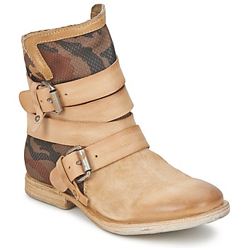Shoes Women Mid boots Airstep / A.S.98 TRIP METAL Natural