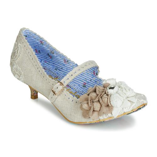Shoes Women Court shoes Irregular Choice DAISY DAYZ Beige / Multicoloured