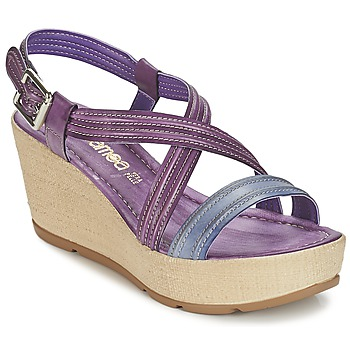Shoes Women Sandals Samoa JEBEMA Violet / Blue