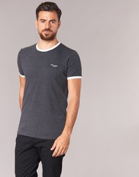material Men short-sleeved t-shirts Teddy Smith THE-TEE Anthracite