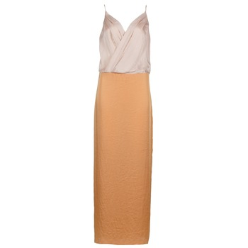 material Women Long Dresses Lola RAPH Pink / Salmon