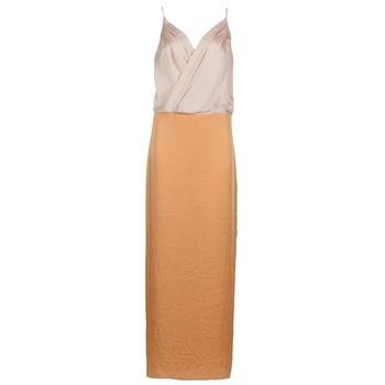 material Women Long Dresses Lola RAPH Pink / Salmon