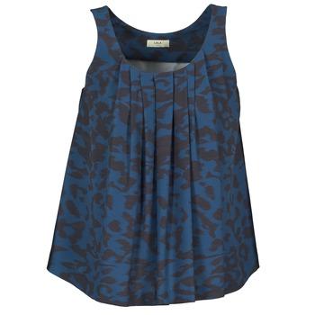 material Women Blouses Lola CUBA Blue / Black