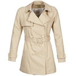 material Women Trench coats Lola MARDI Beige