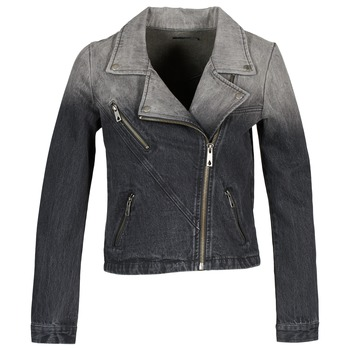 material Women Denim jackets Volcom DENIMES Black