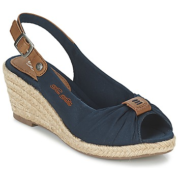 Shoes Women Sandals Tom Tailor FARALO MARINE