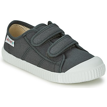 Shoes Children Low top trainers Victoria BLUCHER LONA DOS VELCROS Anthracite