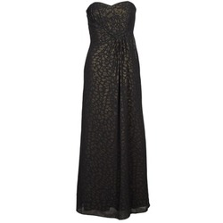 material Women Long Dresses Manoukian 612930 Black / Gold