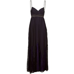 material Women Long Dresses Manoukian 612933 Black