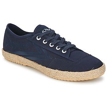 Shoes Low top trainers Feiyue FELO PLAIN Blue / White