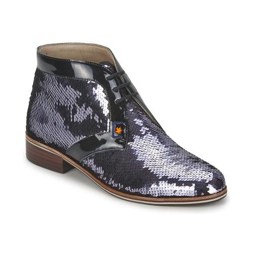 Shoes Women Derby shoes C.Petula PEGASE Silver