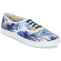 Shoes Women Low top trainers Victoria INGLES FLORES Y CORAZONES White / Blue