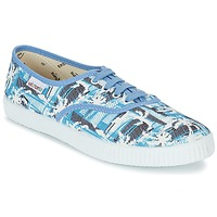 Shoes Low top trainers Victoria INGLES PALMERAS Blue