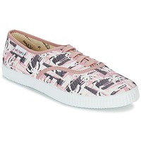 Shoes Women Low top trainers Victoria INGLES PALMERAS Pink