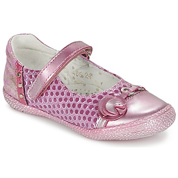 Shoes Girl Ballerinas Babybotte KAYLINE Pink
