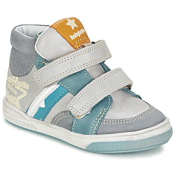 Shoes Boy High top trainers Babybotte APPOLON Grey