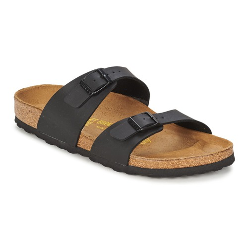 Shoes Women Sandals Birkenstock SYDNEY Black / Matt