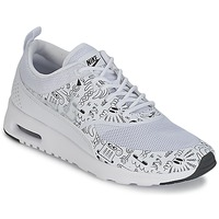 Shoes Women Low top trainers Nike AIR MAX THEA PRINT W White / Black