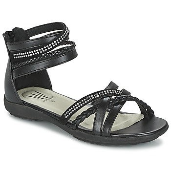 Shoes Girl Sandals Wildflower GRIMSTAD Black