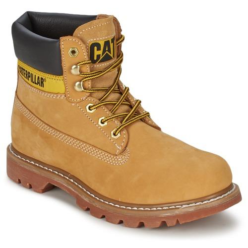 Shoes Women Mid boots Caterpillar COLORADO Honey