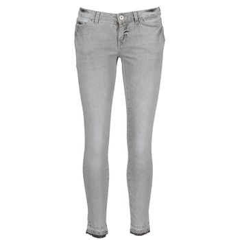 material Women cropped trousers Vero Moda FLASH Grey
