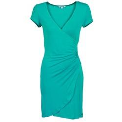 material Women Short Dresses Smash AVELINA TURQUOISE