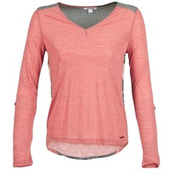 material Women Long sleeved shirts Smash TIRAMISU Pink