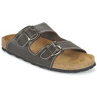 Shoes Men Mules Casual Attitude TERTROBAL Brown