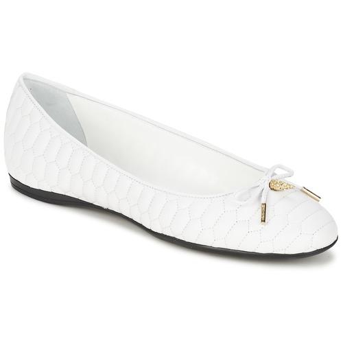 Shoes Women Ballerinas Roberto Cavalli XPS151-PN119 White