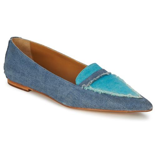 Shoes Women Loafers Castaner KATY Blue / Jean