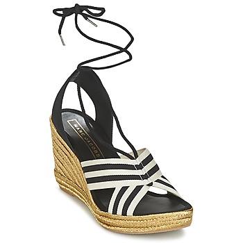 Shoes Women Sandals Marc Jacobs DANI Black / White