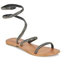 Shoes Women Sandals Café Noir CAMPIBALO Grey