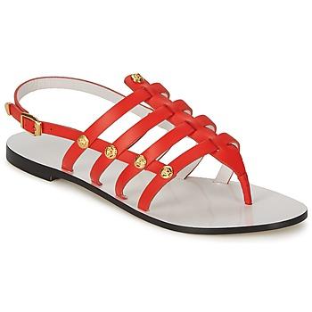 Shoes Women Sandals Versace DSL944C Coral