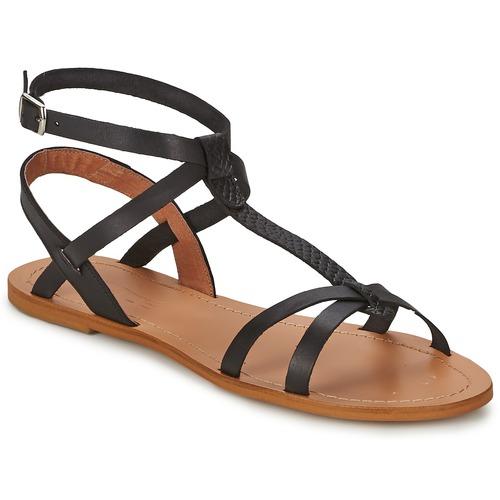 Shoes Women Sandals So Size BEALO Black