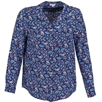 material Women Shirts Manoush BANDANA SILK Blue