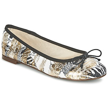 Shoes Women Ballerinas Desigual MISSIA Brown